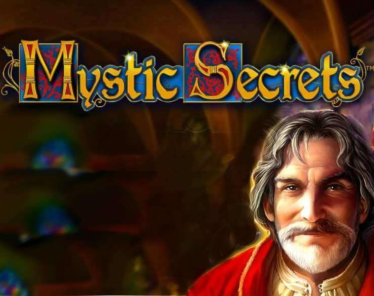 mystic secrets slot logo wizard