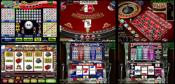 many casino games